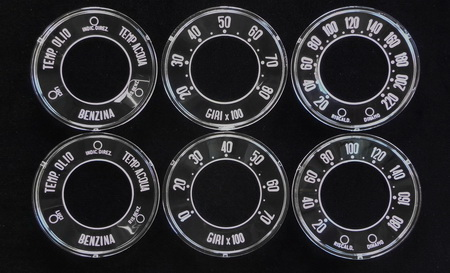 Giulietta European Veloce and Normale Gauges