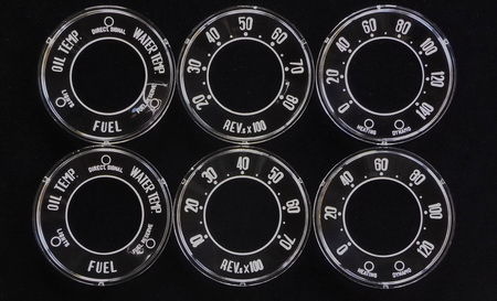 Giulietta USA Veloce and Normale Gauges