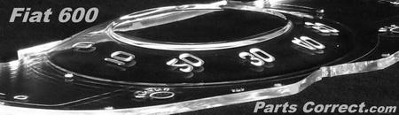 Fiat Multipla 600 Jolly Speedometer Gauge Lens dial insert face edge s PC